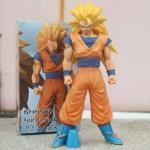 Dragon DBZ Son Goku Super Saiyan 3 Collection Model Figure Toys