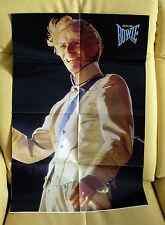 ★ David Bowie: 8-seitiges Großposter aus POPCORN 1983, vierfach gefaltet