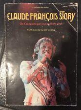 1978  Grand Livre Claude François Story Cloclo Les Clodettes Nombreuses Photos