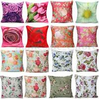 3D Flower Pringting Cushion Cover Bedroom Throw Pillow Case Home Sofa Decoration