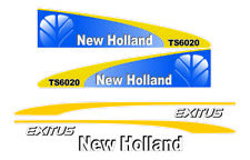 New Holland TS 6020  Tractor Decals / Adhesives / Stickers
