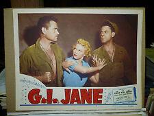 G. I. JANE, orig 1951 LC #7 (Jean Porter, Tom Neal)