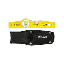 Genuine STABILA 81SM Magnetic Level + Scaffolders Holster 10inch 250mm