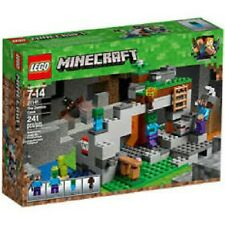 LEGO MINECRAFT 21141 The Zombie Cave Kids Christmas Gift Boys 241 Pieces  (3)