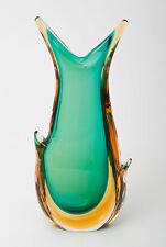 VINTAGE Italiano Murano Art Glass Sommerso Orecchie VASO-Seguso Flavio Poli