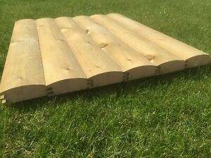 38x125 Treated Shed Cladding DIY Exterior Redwood Shiplap delivered see postcode