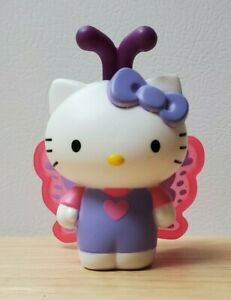 Hello Kitty Butterfly Mcdonald's Happy Meal Toy #5 - Pre Owned
