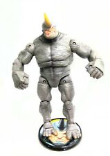 MARVEL LEGENDS SPIDERMAN CLASSICS FEARSOME FOES RHINO WITH STAND BASE