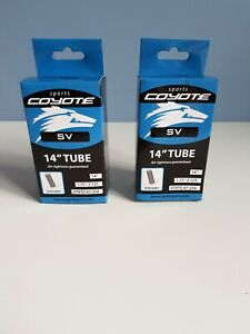 2 X 700C x 18-25C inner tubes presta valve by coyote sports ETRO 23-622