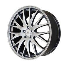 18x8 Verde Saga 5x115 +38 Silver Rims Wheels New (4)
