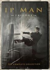 Ip Man 1 2 & 3 DVD Set Donnie Yen Mike Tyson Simon Yam 320 Min + Bonus Disc 2Hrs