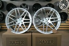 New 19 inch 5x120 HAXER HX 020 wheels for BMW E60 E63 CONCAVE Vossen silver BBS