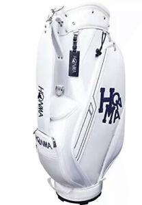 HONMA Golf Men's Caddy Bag Dancing HONMA 9 x 47 inch 2.9kg White CB-52008