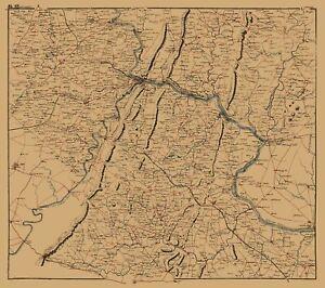 Clarke County Virginia - 1864 - 23.00 x 25.95