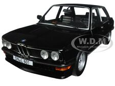 1980 BMW M535i BLACK 1/18 DIECAST MODEL CAR BY NOREV 183264