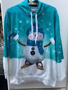 Unisex Snowman Hoodie