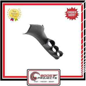 AutoMeter Full Triple Pillar Gauge Pod Fits NISSAN 240SX 95-98 S14 * 22807 *