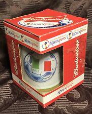 Fifa World Cup Korea/Japan Mug - Budweiser - ITALY