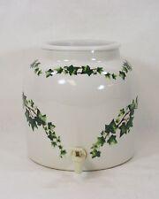 Ivy Leaf Portable Ceramic Crock Water Cooler Dispenser No Elec 3 4 5 Gal 8081010