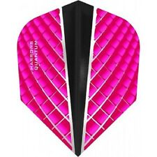 HARROWS QUANTUM X PINK 100 MICRON STANDARD SHAPE FLIGHTS