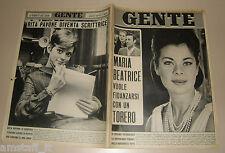 GENTE 1966/47=RITA PAVONE=ALLUVIONE FIRENZE=CASA DEL SOLE MILANO=MATHEW BRADY=