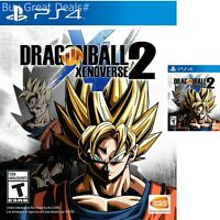 Dragon Ball Xenoverse 2 For PlayStation 4 Brand New Ps4 Games Factory Sealed