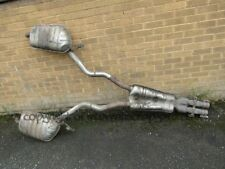 BMW E38 7 series 5.4 750 M73 LWB 94-01 rear exhaust system pipes + back boxes