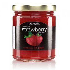 Xyloburst Strawberry Jam Sugar Free - 10 oz. Jar - Sweetened with Xylitol!