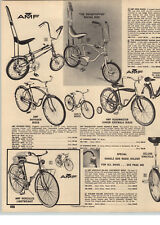 1970 PAPER AD 3 PG AMF Dragstipper Racing Bike Bicycle Banana Seat Renegade III