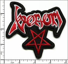 Venom Black Metal Band Embroidered Patch - cronos