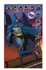 Scott Rosema 75 Years of Batman SIGNED Art Print / Bob Kane Adam West +