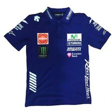 2018 OFFICIAL Moto GP VR46 Valentino Rossi Yamaha Team 46 Polo shirt – NEW