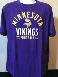 NFL Minnesota Vikings Adult Men's Licensed Logo T-Shirt by Fanatics Size XL