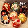 Kimono Fabric Lucky Cat Cartoon Coin Wallet Purse Bag