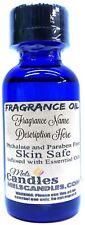 Lemongrass 1 Ounce / 29.5ml Blue Glass Dropper Bottle of Fragrance Oil Scented s