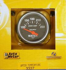 Auto Meter 3337 Sport Comp Electric Water Temperature Gauge Temp 100 - 250 Deg