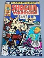 Marvel Comic Shogun Warriors Issue 14 March 1979