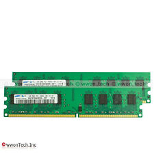 New Samsung 4GB 2X2GB PC2-6400 DDR2-800MHz 240pin DIMM Dekstop Memory For Intel
