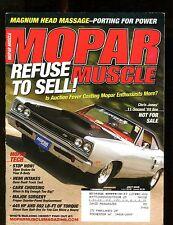 Mopar Muscle Magazine July 2005 Chris Jones '69 Bee EX w/ML 011717jhe