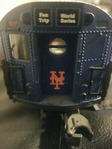 O Scale- MTH-NY   Mets  2000 World Series  add on Subway Car - No Box (J851)