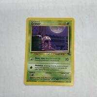 Grimer 48/62 Fossil Set Common WOTC Pokemon TCG