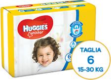Huggies Unistar 14 Diapers Size 6 Sacks (15-66.1lbs) Single Pack