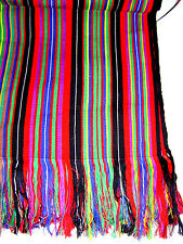 Fair Trade Table Cover Guatemala Backstrap Loom Weaving Nebaj Ixil Triangle