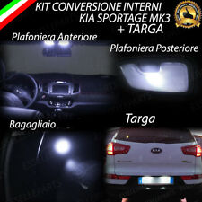 KIT FULL LED INTERNI KIA SPORTAGE MK3 CONVERSIONE COMPLETA + LUCI TARGA 6000K