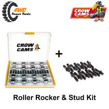 """Holden 6 Cyl 179 186 202 Crow Cams Roller Rockers & Studs Kit 3/8"""" Stud 1.5:1"""