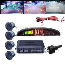 Schwarzes LED-Anzeigen-Auto-4-Parksensor-Rückunterstützungsradar-Alarmsystem-Kit