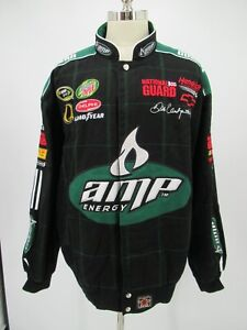 L6801 JR Nation Dale Earnhardt Jr AMP Energy NASCAR Racing Jacket Size 3XL