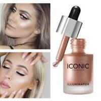 Face Illuminator Oil Glow Liquid Concealer Highlighter Makeup Shimmer ICONIC~.