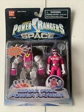 Bandai Power Rangers In Space Lunar PINK Power Ranger mint in box