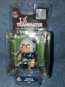 NFL Lil' Teammates Series 2 New England Patriots Throwback LINEMAN 3 IN figurine